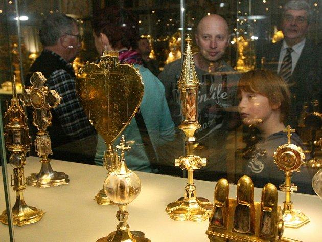 Jaký je sokolovský poklad? Na snímku je ten svatovítský v Praze
