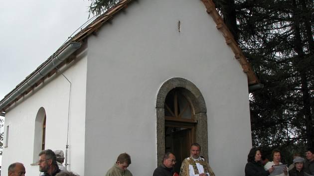 Kaple v Kamenici.