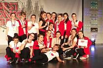 Soutěžní sezonu zahájily tanečnice z Miráklu velmi úspěšně. Všech pět choreografií získalo v regionálním kole Taneční skupiny roku zlato.