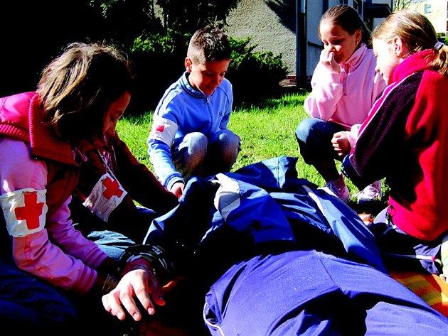 Mladí zdravotníci bojovaly o postup do oblastního kola.