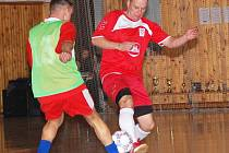 Sokolov cup, semifinále: ASP Loket - Fortuna Sokolov (v červeném)