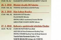 Program Jazzového jara.