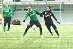 Přípravný fotbal: 1. FK Příbram - FK Baník Sokolov (v zeleném)
