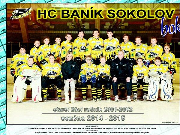 Starší žáci HC Baník SOkolov