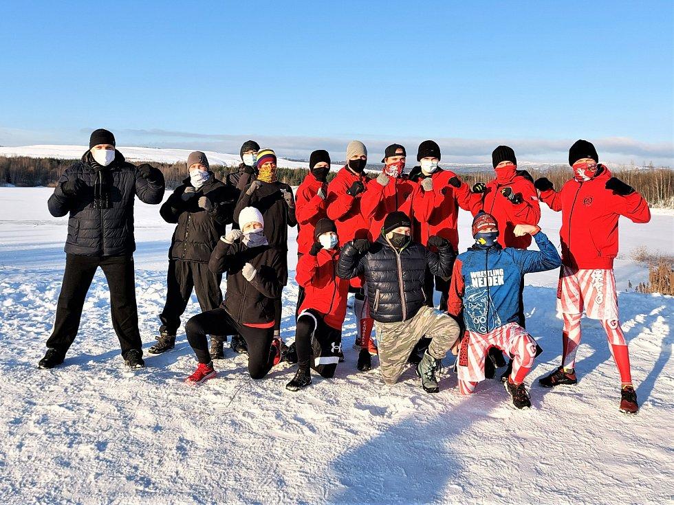 Chodovští samurajové v mrazu a ledu