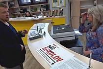 V Sokolově vznikla hned dvě petiční místa.