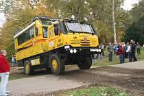 Tatrabus míří do Sokolova.
