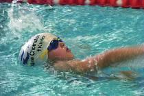 Sokolovský kapřík - plavecké závody
