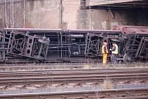 Nehoda na železnici - ilustrační foto