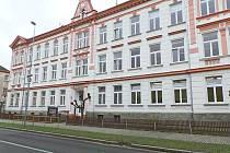 Základní škola v Dukelské ulici v Kraslicích.