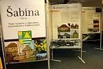 Oslavy 700. výročí založení obce Šabina.