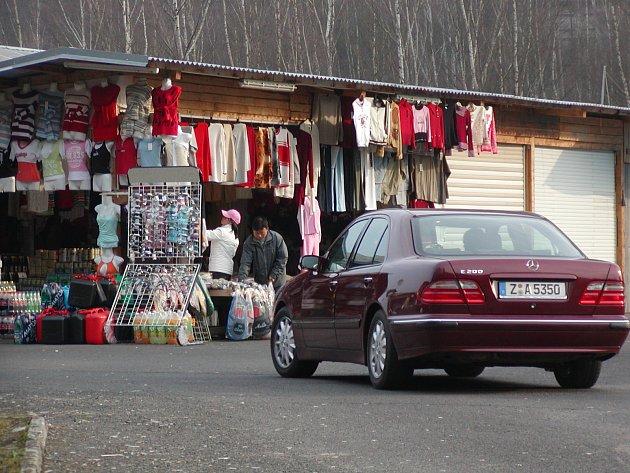 Tržnice v Hraničné.