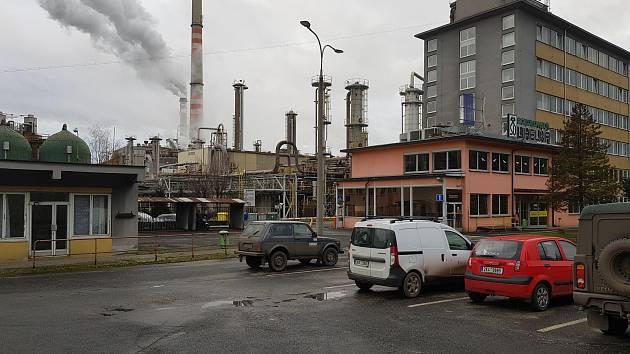 Vřesová a elektrárna Tisová