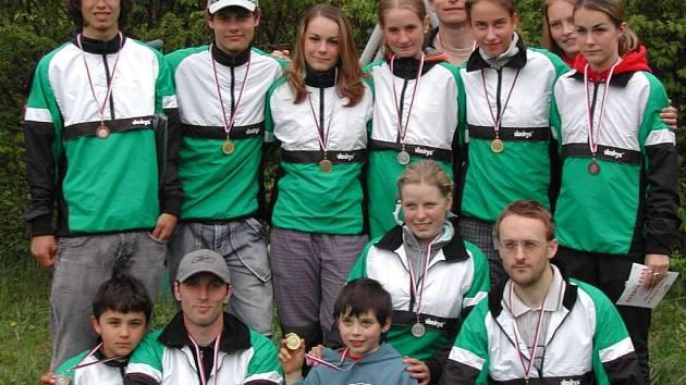 Orientační běžci Baníku Sokolov za sebou mají velice úspěšný víkend.