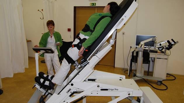 Nové vybavení dostalo nejen iktové centrum, ale i rehabilitace