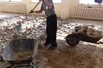 Věznice v Kynšperku nad Ohří opravuje další ubytovnu. Foto: VSČR