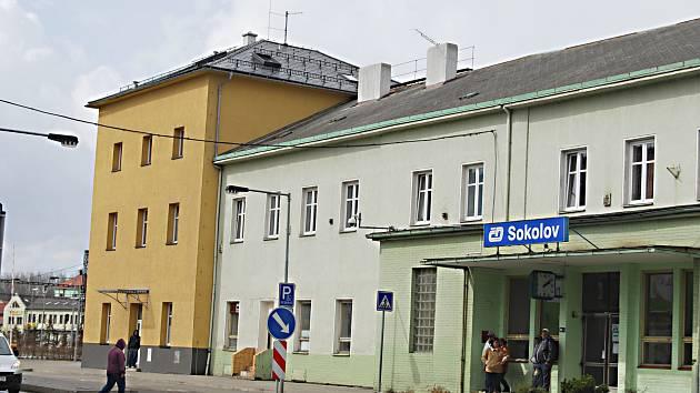 Sokolovské vlakové nádraží