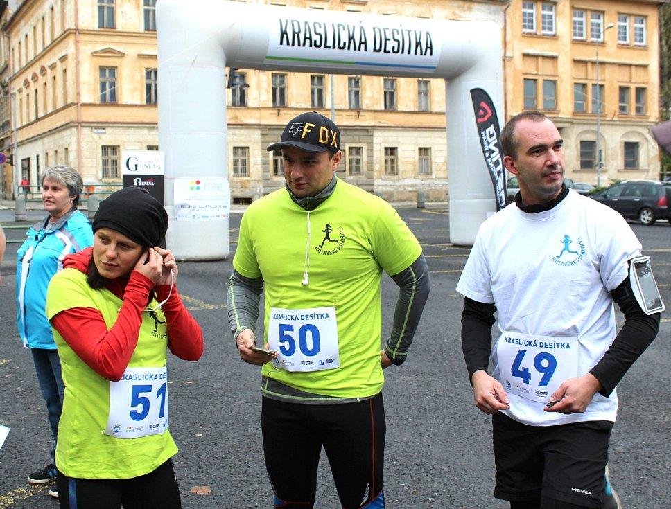Charitativní běžecký závod Kraslická desítka.