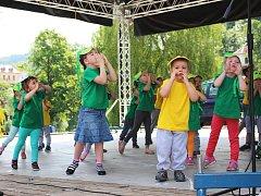 Pro děti byla určená i červnová akce Děti baví Loket (na snímku).