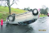 Nehoda u Jindřichovic.