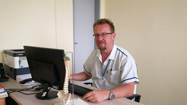 Primáře Pracoviště léčby bolesti Josef Trnka.