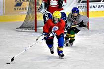 Snímek z jednoho z hokejových kempů.