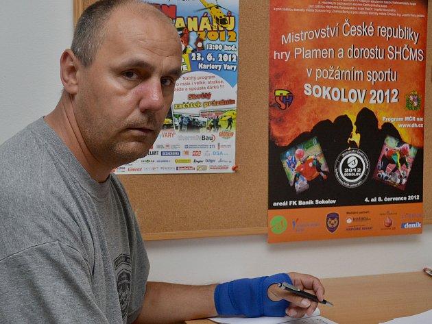 LADISLAV ZAPF (na snímku) je šéfem přípravného výboru mistrovství.