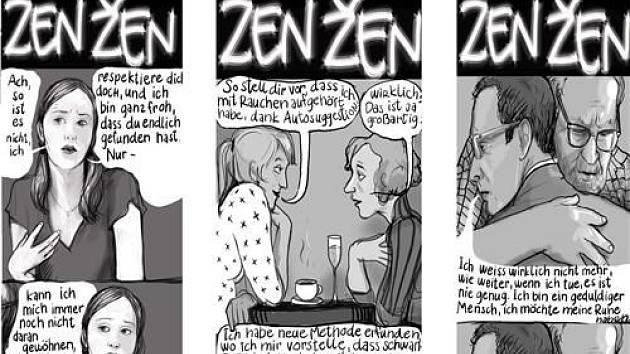 Lela Geislerová, komiks