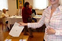 Krajské volby 2008 v Přebuzi.