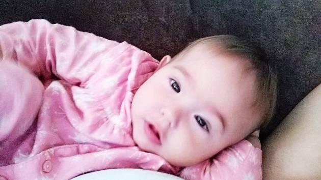 Kačenka je krásná a zdravá holčička.