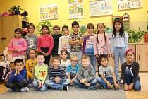 Prvňáčci ze Základní školy Bukovany.
