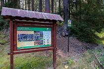 Pluhův bor se nachází ve Slavkovském lese.