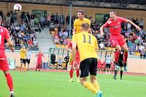 3. kolo Fortuna:národní ligy FK Baník Sokolov - FC Zbrojovka Brno 0:2