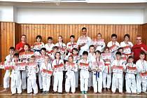 Bojovníci Samurai Fight Clubu Chodov v Karlových Varech