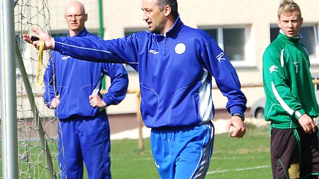 Aleš Jindra, nový trenér FK Baník Sokolov
