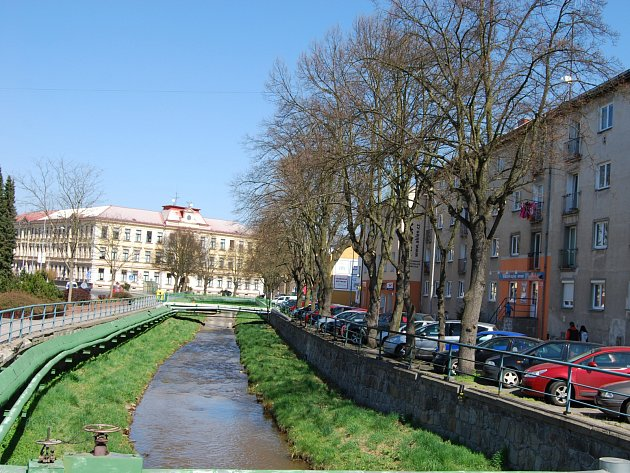 Nábřeží Petra Bezruče v Sokolově