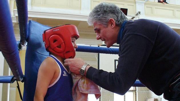 René Hejda s trenérem Janem Malým