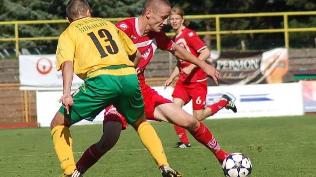 II. fotbalová liga: FK Baník Sokolov - FK Pardubice