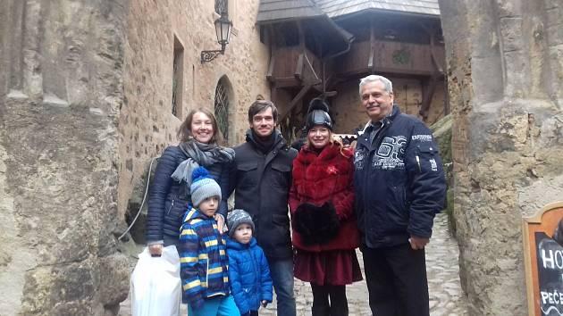 Stopadesátitisícími návštěvníky se stali Svobodovi z Plzně.
