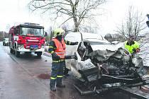 Nehoda u Citic.