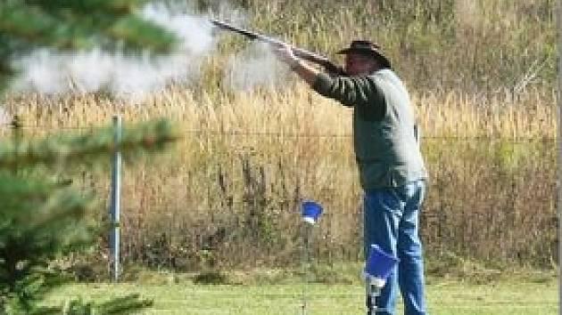 Střelba z perkusní pušky