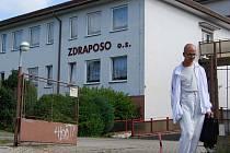 Sokolovský objekt, ve kterém sídlí Zdraposo.