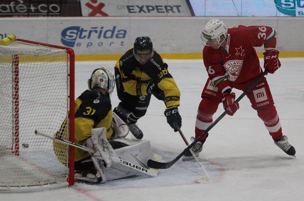 3. kolo Chance ligy: Slavia Praha - Baník Sokolov 3:2 po sn