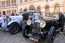 O víkendu zavítala do Lokte Prague retro rallye.