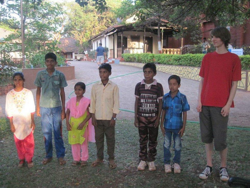 Škola hrou pro indické děti