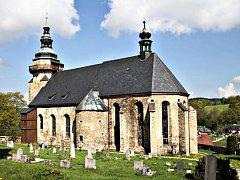 Slavnosti svatého Jiří se v kostele konají v sobotu.