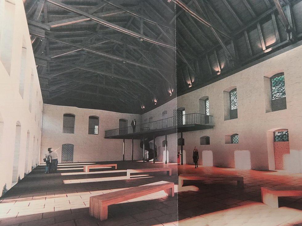 Studie využití areálu zámku v Kostelní Bříze