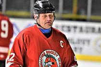 Kapitán hokejového týmu Hellfish Cheb Daniel Dus.