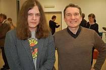Teodor Kravál (vlevo) na archivním snímku.