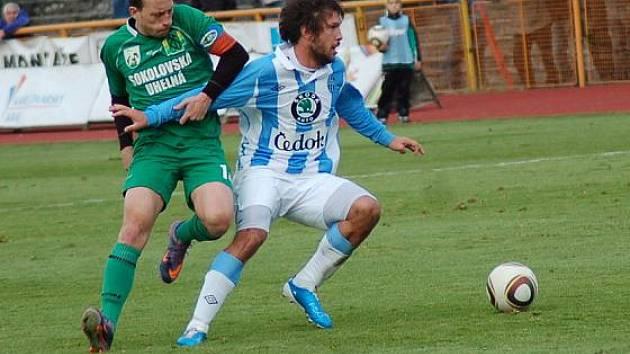 Osmifinále Ondrášovka cupu: FK Baník Sokolov - FK Mladá Boleslav